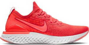 Nike  Epic React Flyknit 2 Chile Red Chile Red/Vast Grey-Black-Bright Crimson (BQ8928-601)