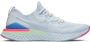 Nike  Epic React Flyknit 2 Hydrogen Blue Sapphire Hyper Pink (W) Hydrogen Blue/Hydrogen Blue-Sapphire-Lime Blast-Hyper Pink-Blue Tint (BQ8927-453)