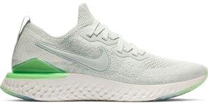 Nike  Epic React Flyknit 2 Light Silver Lime Blast (W) Light Silver/Light Silver-Lime Blast (BQ8927-005)