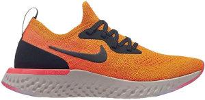 Nike  Epic React Flyknit Black Orange (GS) Black/Orange (943311-800)