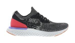 Nike  Epic React Flyknit Black Red Orbit Black/Black-White-Red Orbit (AQ0067-006)