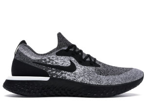 Nike  Epic React Flyknit Cookies & Cream Black/Black-White (AQ0067-011)