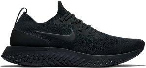 Nike  Epic React Flyknit Triple Black Black/Black-Black (AQ0067-003)