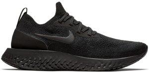 Nike  Epic React Flyknit Triple Black (W) Black/Black-Black (AQ0070-003)