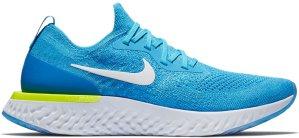 Nike  Epic React Flyknit Volt Glow Blue Glow/White-Photo Blue-Volt Glow (AQ0067-401)