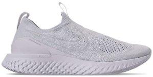 Nike  Epic React Moc Flyknit White Pure Platinum White/White-Pure Platinum (BV0417-100)