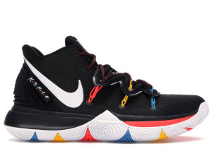 Nike  Kyrie 5 Friends Black/White/Multi Color (AO2918-006/AO2919-006)