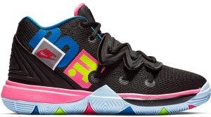 Nike  Kyrie 5 Just Do It (PS) Black/Volt-Hyper Pink (AQ2458-003)