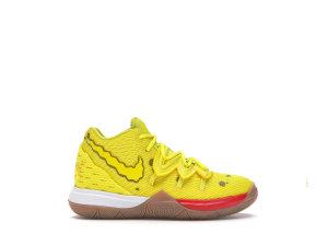 Nike  Kyrie 5 Spongebob (PS) Opti Yellow/Opti Yellow (CN4501-700)