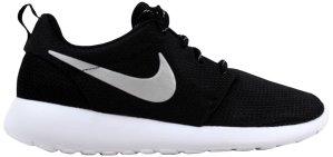 Nike  Roshe One Black/Metallic Platinum-White (W) Black/Metallic Platinum-White (511882-094)