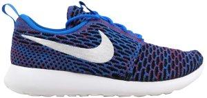 Nike  Roshe One Flyknit Photo Blue/White-University Red-Black (W) Photo Blue/White-University Red-Black (704927-404)