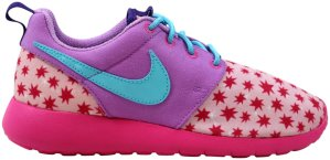Nike  Roshe One Print Prism Pink (GS) Prism Pink/Blue-Fuchsia (677784-604)