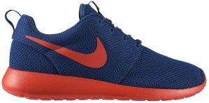 Nike  Roshe Run Dark Royal Ornage Dark Royal Blue/Team Orange-Volt (511881-483)