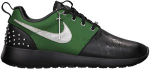 Nike  Roshe Run Doernbecher (GS) Black/Fortress Green-Metallic Silver (640635-030)