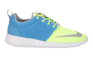 Nike  Roshe Run FB Current Blue Current Blue/Chrm-Ht Lm-White (580573-401)