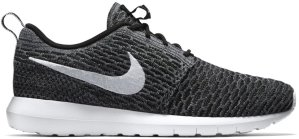 Nike  Roshe Run Flyknit Dark Grey Black/White-Dark Grey-Cool Grey (677243-010)