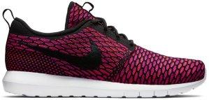 Nike  Roshe Run Flyknit Fireberry Black/White-Fireberry-Total Orange (677243-004)