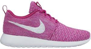 Nike  Roshe Run Flyknit Fuchsia Flash (W) Fuchsia Flash/White-Atomic Purple (704927-500)