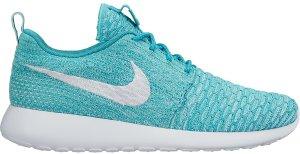 Nike  Roshe Run Flyknit Sport Turquoise (W) Sport Turquoise/White-Hyper Turquoise (704927-300)