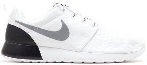 Nike  Roshe Run Glow-in-the-Dark Leopard (W) White/Reflect Silver-Black (525321-100)