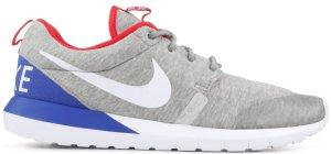 Nike  Roshe Run SP Great Britain Grey Heather/White-University Red (652804-016)