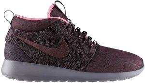 Nike  Roshe Run Mid City Pack NYC Red Mahogany/Red Mahogany-Port Wine (585898-665)