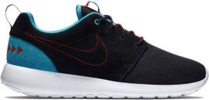 Nike  Roshe Run N7 Black/Dark Turquoise/University Red (746654-004)