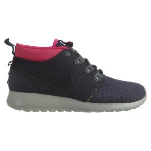 Nike  Roshe Run Sneakerboot Gridiron/Dark Obsidian-Pinkfl-Volt Gridiron/Dark Obsidian-Pinkfl-Volt (615601-006)