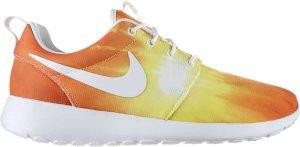 Nike  Roshe Run Sunset (W) White/White-Atomic Mango (511882-118)