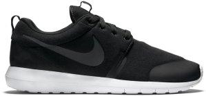 Nike  Roshe Run Tech Fleece Black Black/Black-Black (749658-001)