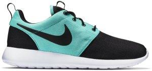Nike  Roshe Run Tiffany Black/Black-Light Retro-White (511881-025)