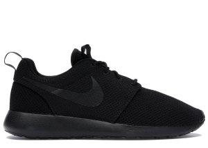 Nike  Roshe Run Triple Black Black/Black (511881-026)