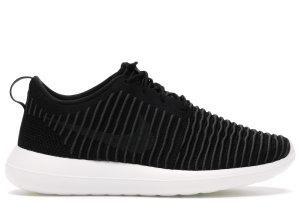 Nike  Roshe Two Flyknit Black/Dark Grey-White-Volt Black/Dark Grey-White-Volt (844833-001)