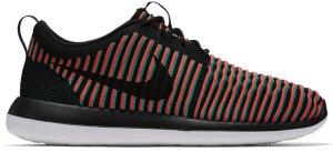 Nike  Roshe Two Flyknit Bright Crimson Black/Bright Crimson-Clear Jade-Black (844833-003)