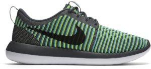 Nike  Roshe Two Flyknit Gamma Blue Dark Grey/Gamma Blue-Volt-Black (844833-004)