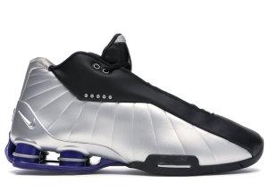 Nike  Shox BB4 Black Silver Lapis Black/Metallic Silver-Lapis (AT7843-001)