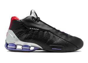 Nike  Shox BB4 Raptors Black/Court Purple-University Red (CD9335-002)