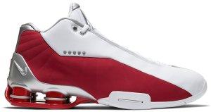 Nike  Shox BB4 Varsity Red (2019) White/Metallic Silver-Varsity Red (AT7843-101)