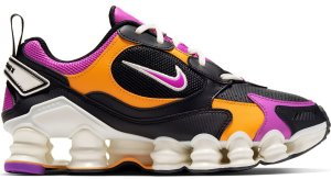 Nike  Shox Nova Black Orange Violet (W) Black/Orange Peel-Atomic Violet-Sail (AT8046-002)
