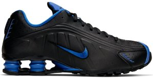 Nike  Shox R4 Black Game Royal Black/Game Royal (104265-053)