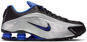 Nike  Shox R4 Racer Blue Black/Metallic Silver-Racer Blue (104265-047)