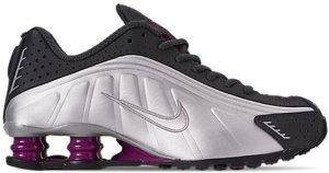 Nike  Shox R4 True Berry (W) Anthracite/True Berry-Metallic Silver-Black (AR3565-003)