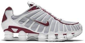 Nike  Shox TL Neutral Grey Team Red White/Neutral Grey-Team Red (AV3595-103)