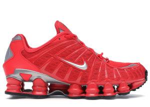 Nike  Shox TL Speed Red Speed Red/Metallic Silver-Speed Red (BV1127-600)
