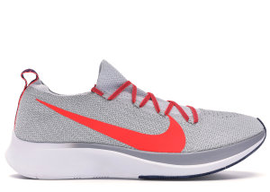 Nike  Zoom Fly Flyknit Pure Platinum Bright Crimson Pure Platinum/Bright Crimson (AR4561-044)