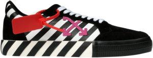 OFF-WHITE  Arrows Vulc Low Stripe Violet SS20 (W) Black (OWIA178R20I051091029)
