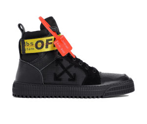 OFF-WHITE  Industrial Hi Top Black Black (OMIA102R198000011010)