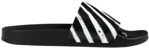 OFF-WHITE  Spray Stripes Slider Black White SS20 Black (OMIA088R20C220521001)