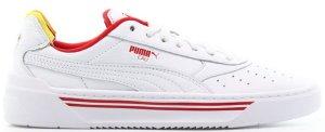 Puma  Cali-0 Drive Thru White/Red-Yellow (369472-01)