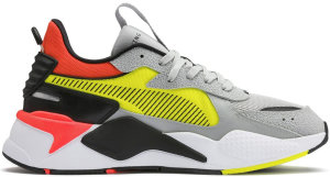 Puma  RS-X Harddrive Grey Yellow Red Grey/Yellow/Red (369818-01)